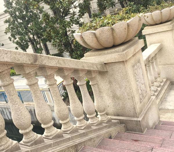 欧式grc花瓶栏杆