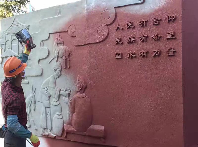 水泥雕塑制品