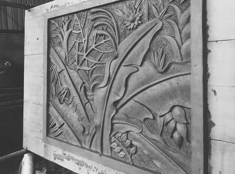 grc水泥浮雕