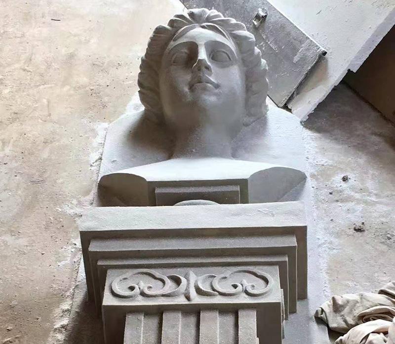 GRC人物浮雕