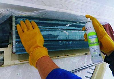 云南空调管路怎么清洗?