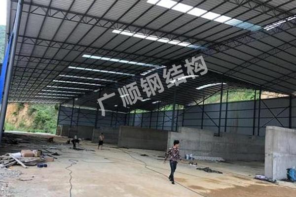 云南彩鋼大棚廠房