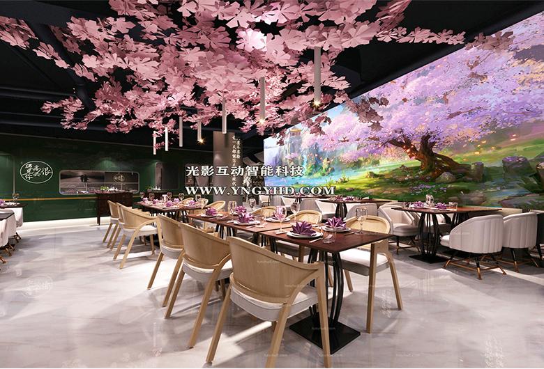 3d全息投影餐厅
