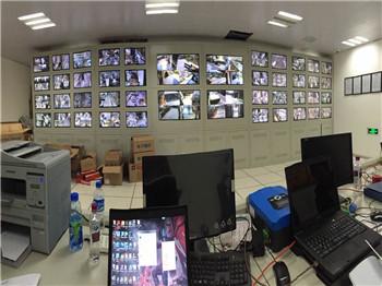 昆明花之城監控安裝系統