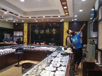 昆明珠宝城监控安装系统