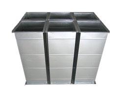 昆明暖通風管製作-鍍鋅鐵皮風管