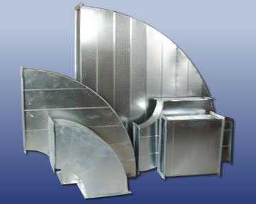 昆明暖通設備生產廠家-通風管道彎頭