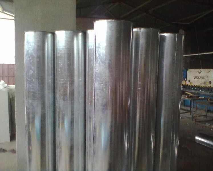 雲南矩形方管廠家-圓形鍍鋅風管