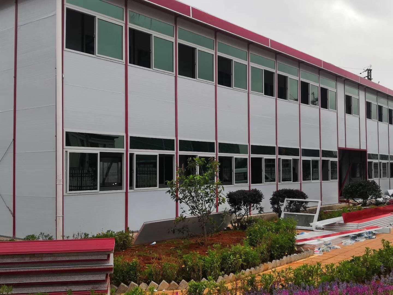 昆明大型工厂办公活动房搭建