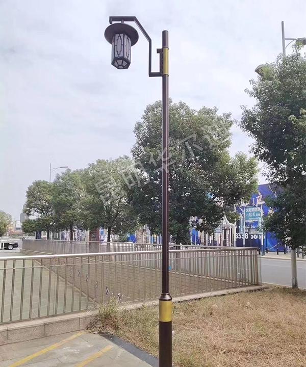 云南智能庭院太阳能路灯