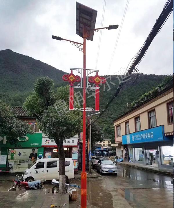 云南太阳能农村家用路灯
