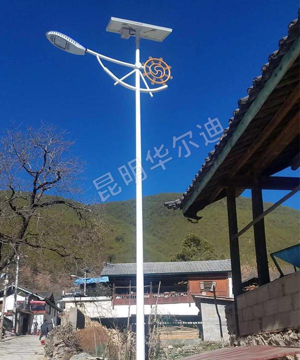 云南厂区太阳能节能路灯
