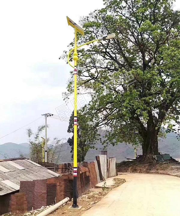 云南农村太阳能节能路灯厂家