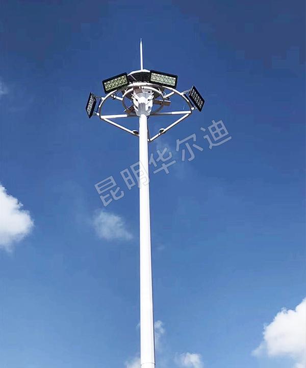 云南球场led高杆灯安装