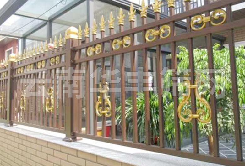 瑞丽锌钢合金护栏