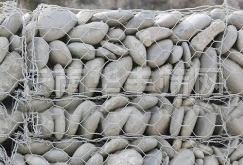 河道护岸石笼网