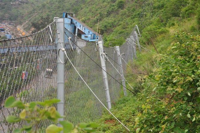 云南边坡柔性防护网、被动边坡防护网 现货定制