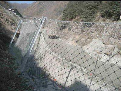 边坡柔性防护网的三大美化功能