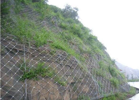 公路邊坡防護網的特點
