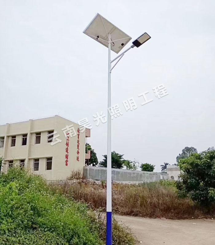 昆明太阳能路灯的安装误区,要知道!