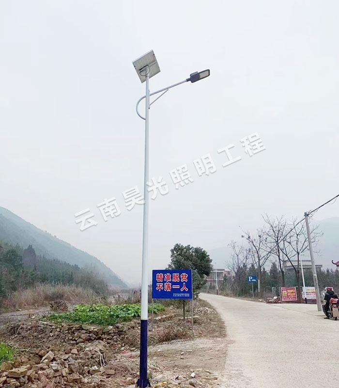 浅谈昆明太阳能路灯的防盗措施!