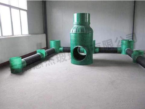 玻璃钢排污管道生产