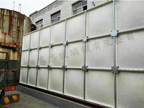 组合式smc玻璃钢水箱