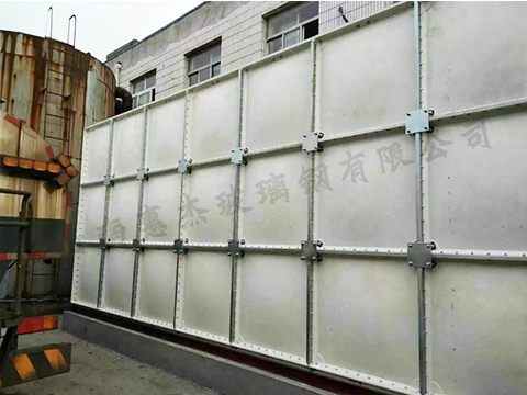 组合式smc玻璃钢水箱生产