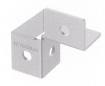 昆明成品支架直角连接器