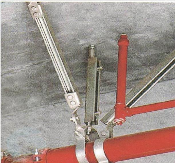 安装抗震支架时如何选用合适的支撑装置