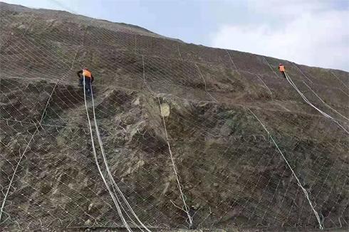临沧边坡落石防护网