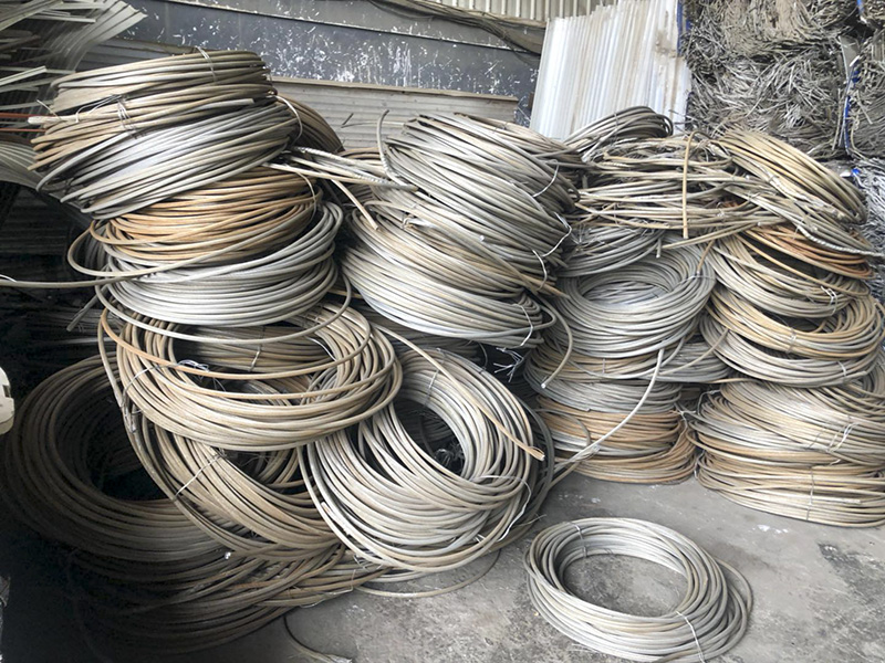 废旧钢绞线回收