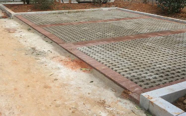 植草砖施工步骤
