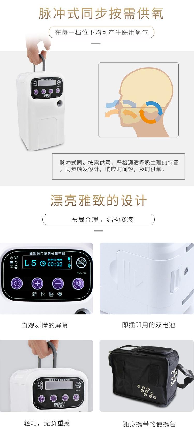 云南新松便携式医疗制氧机