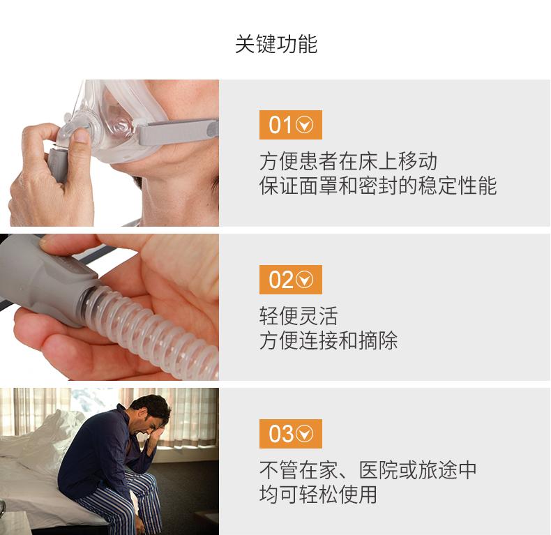 瑞思迈呼吸机配件细管路15mm