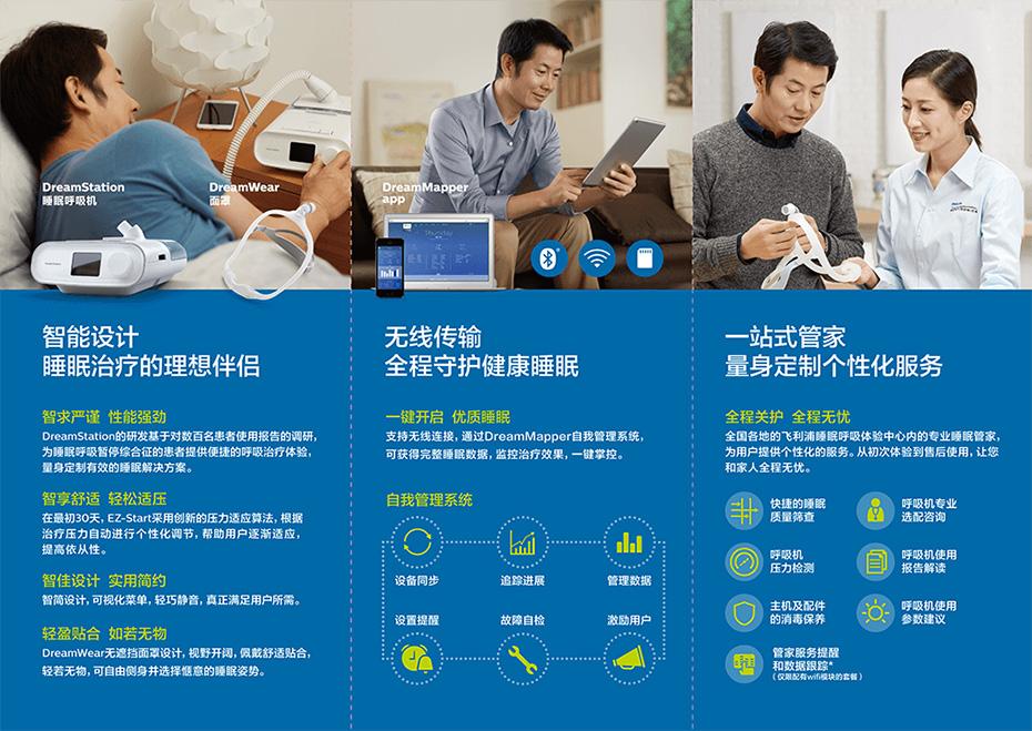 飞利浦伟康DS500单水平全自动呼吸机