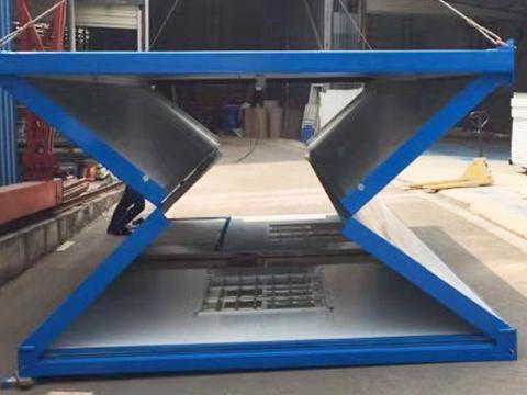 景洪折叠集装箱活动房如何规范安装?