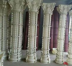 圆形塑钢罗马柱