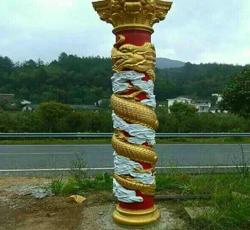 龙凤装饰罗马柱