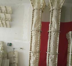 室内龙凤罗马柱