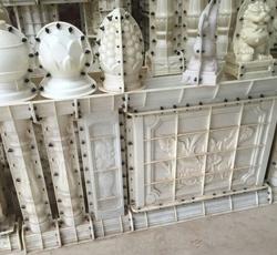 形状各异的柱头