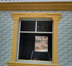 现浇彩色窗套模具