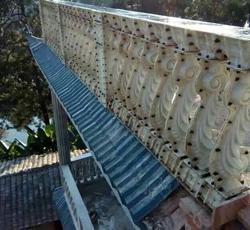 海马阳台柱