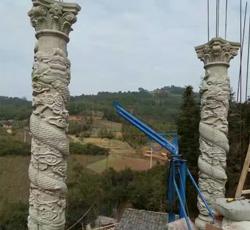 石塑罗马柱模具