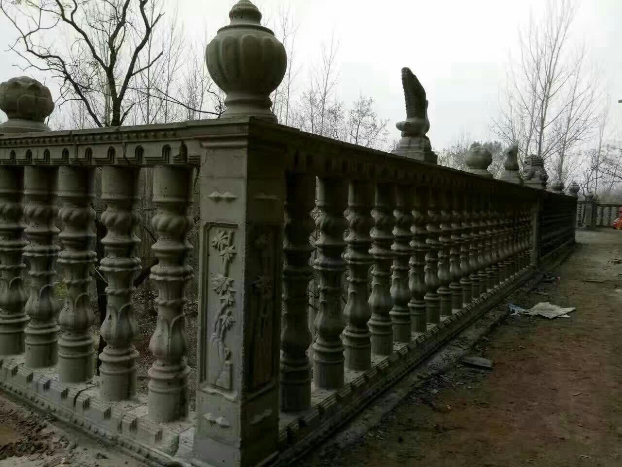 昆明罗马柱模具现浇圆柱头花瓶柱