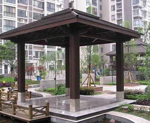 小区景观凉亭