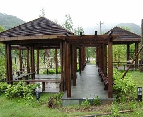 园林景观凉亭
