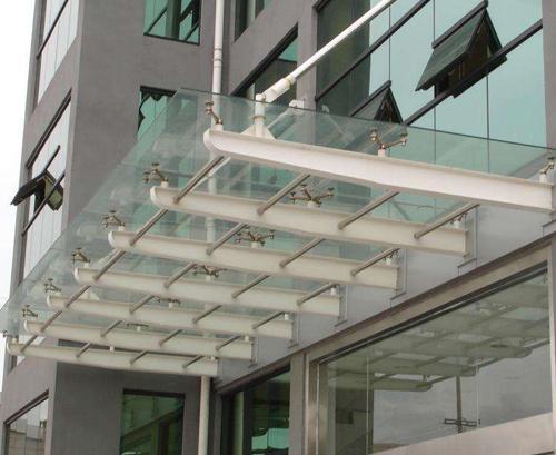 玻璃钢结构雨棚