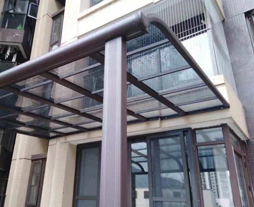 钢结构雨棚定制