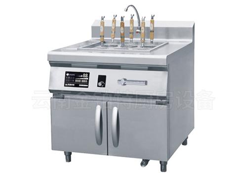 柜式电磁六头煮面炉